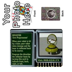 Roborally By Chrystal Dreameraceher Mccullar   Playing Cards 54 Designs   Yvpe35garqyj   Www Artscow Com Front - Club8