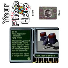 Roborally By Chrystal Dreameraceher Mccullar   Playing Cards 54 Designs   Yvpe35garqyj   Www Artscow Com Front - Club9