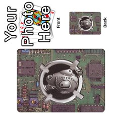 Roborally By Chrystal Dreameraceher Mccullar   Playing Cards 54 Designs   Yvpe35garqyj   Www Artscow Com Back