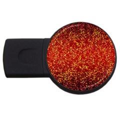 Glitter 3 2gb Usb Flash Drive (round) by MedusArt