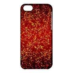 Glitter 3 Apple Iphone 5c Hardshell Case by MedusArt