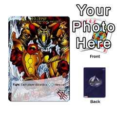 Legendary Villains 1 By Mark   Playing Cards 54 Designs   Agb47bvzb0at   Www Artscow Com Front - Heart7
