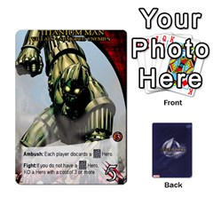 Legendary Villains 1 By Mark   Playing Cards 54 Designs   Agb47bvzb0at   Www Artscow Com Front - Diamond6