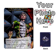 Legendary Villains 1 By Mark   Playing Cards 54 Designs   Agb47bvzb0at   Www Artscow Com Front - Spade6