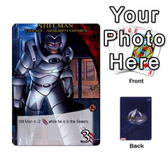 Legendary Villains 1 By Mark   Playing Cards 54 Designs   Agb47bvzb0at   Www Artscow Com Front - Club4