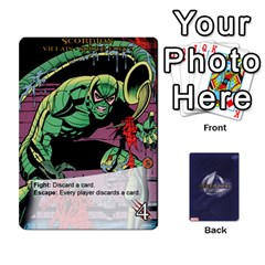 Legendary Villains 1 By Mark   Playing Cards 54 Designs   Agb47bvzb0at   Www Artscow Com Front - Club5
