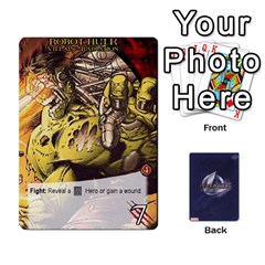 Jack Legendary Villains 1 By Mark   Playing Cards 54 Designs   Agb47bvzb0at   Www Artscow Com Front - ClubJ