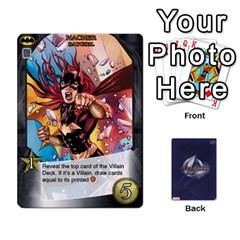 Legendary Batfamily1 By Mark   Playing Cards 54 Designs   Czt9ekx1vi6u   Www Artscow Com Front - Heart9