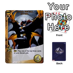 Queen Legendary Batfamily1 By Mark   Playing Cards 54 Designs   Czt9ekx1vi6u   Www Artscow Com Front - HeartQ