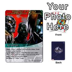 Legendary Batfamily1 By Mark   Playing Cards 54 Designs   Czt9ekx1vi6u   Www Artscow Com Front - Club8