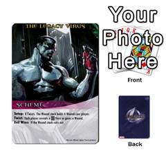 Legendary Batfamily1 By Mark   Playing Cards 54 Designs   Czt9ekx1vi6u   Www Artscow Com Front - Club9