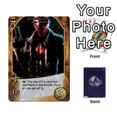 Legendary Batfamily2 By Mark   Playing Cards 54 Designs   U64yxtqn2fkz   Www Artscow Com Front - Heart3