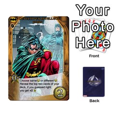 Legendary Batfamily2 By Mark   Playing Cards 54 Designs   U64yxtqn2fkz   Www Artscow Com Front - Heart8