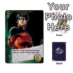 Legendary Batfamily2 By Mark   Playing Cards 54 Designs   U64yxtqn2fkz   Www Artscow Com Front - Heart9