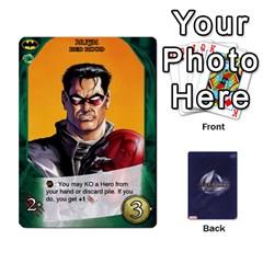 Legendary Batfamily2 By Mark   Playing Cards 54 Designs   U64yxtqn2fkz   Www Artscow Com Front - Diamond4