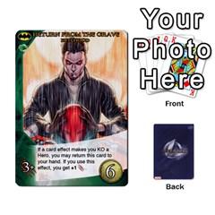 Legendary Batfamily2 By Mark   Playing Cards 54 Designs   U64yxtqn2fkz   Www Artscow Com Front - Diamond8