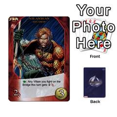 King Legendary Batfamily2 By Mark   Playing Cards 54 Designs   U64yxtqn2fkz   Www Artscow Com Front - ClubK