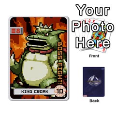 King Legendary / Bossmonster By Mark   Playing Cards 54 Designs   R1aw99lir8xv   Www Artscow Com Front - HeartK