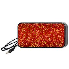 Glitter 3 Portable Speaker (black) by MedusArt