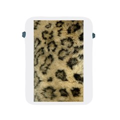 Leopard Coat2 Apple iPad Protective Sleeve by BrilliantArtDesigns