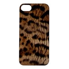 Ocelot Coat Apple iPhone 5S Hardshell Case