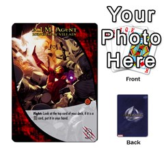 Legendary Expansion5 By Mark   Playing Cards 54 Designs   9q82qk7dvb8w   Www Artscow Com Front - Club3