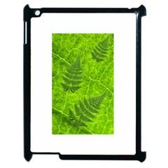Leaf & Leaves Apple Ipad 2 Case (black) by BrilliantArtDesigns