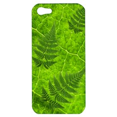 Leaf & Leaves Apple Iphone 5 Hardshell Case by BrilliantArtDesigns