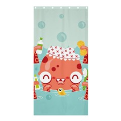 Mr. Bubbles Shower Curtain 36  x 72  (Stall) by Contest1771648
