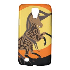 Embracing The Moon Samsung Galaxy S4 Active (i9295) Hardshell Case