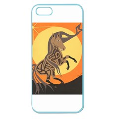 Embracing The Moon Copy Apple Seamless Iphone 5 Case (color) by twoaboriginalart