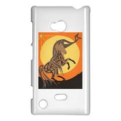 Embracing The Moon Copy Nokia Lumia 720 Hardshell Case by twoaboriginalart