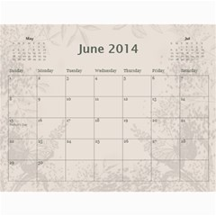My Calendar 2014 By Inna   Wall Calendar 11  X 8 5  (12 Months)   9h1or3evyb5p   Www Artscow Com Jun 2014