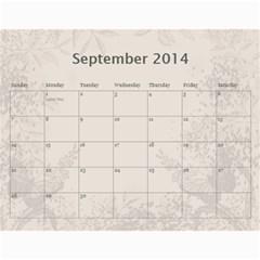 My Calendar 2014 By Inna   Wall Calendar 11  X 8 5  (12 Months)   9h1or3evyb5p   Www Artscow Com Sep 2014