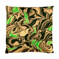 Retro Swirl Cushion Case (two Sided)  by Colorfulart23