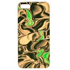 Retro Swirl Apple Iphone 5 Hardshell Case With Stand by Colorfulart23