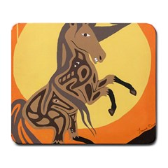 Embracing The Moon Large Mouse Pad (rectangle) by twoaboriginalart