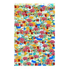 Summer Spa Vacation Shower Curtain 48  X 72  (small) by Contest1852090