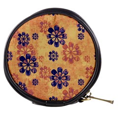 Funky Floral Art Mini Makeup Case by Colorfulart23