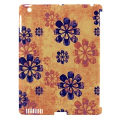 Funky Floral Art Apple Ipad 3/4 Hardshell Case (compatible With Smart Cover) by Colorfulart23