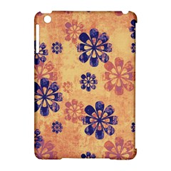 Funky Floral Art Apple Ipad Mini Hardshell Case (compatible With Smart Cover) by Colorfulart23