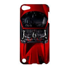 Ferrari Sport Car Red Apple Ipod Touch 5 Hardshell Case by BrilliantArtDesigns