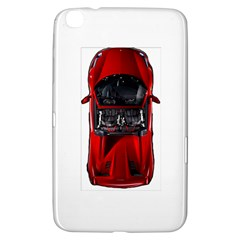 Ferrari Sport Car Red Samsung Galaxy Tab 3 (8 ) T3100 Hardshell Case  by BrilliantArtDesigns
