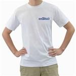 UWAnime - Men s T-Shirt (White) (Two Sided)