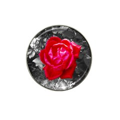 Red Rose Golf Ball Marker 4 Pack (for Hat Clip) by jotodesign
