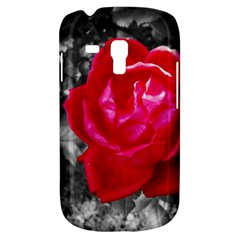 Red Rose Samsung Galaxy S3 Mini I8190 Hardshell Case by jotodesign