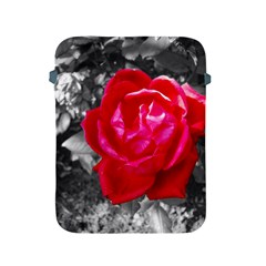 Red Rose Apple Ipad Protective Sleeve by jotodesign