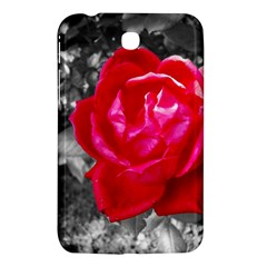Red Rose Samsung Galaxy Tab 3 (7 ) P3200 Hardshell Case  by jotodesign