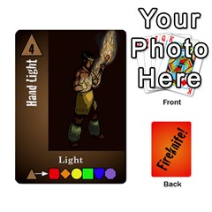 Fireknife 1 Of 2 By Peter Drake   Playing Cards 54 Designs   Hy0k4sc6w5sx   Www Artscow Com Front - Heart4