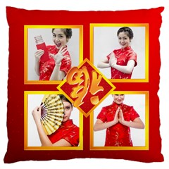 Chinese New Year By Ch   Large Cushion Case (two Sides)   Vravl6hlzf7a   Www Artscow Com Back